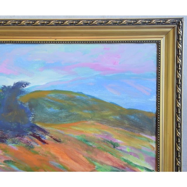 Juan Guzman, Ojai California Original Impressionist Landscape Oil Painting For Sale - Image 4 of 9