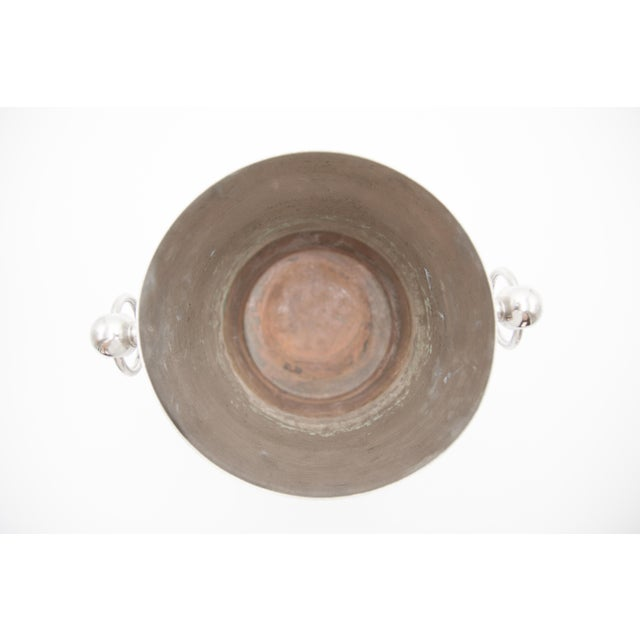 Mid-Century French Silver Plate Champagne Bucket For Sale In Houston - Image 6 of 8