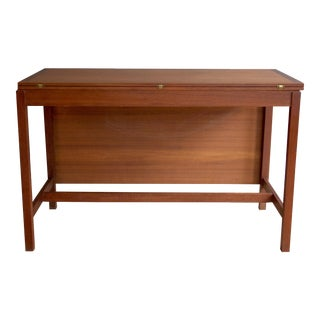 Mid-Century Modern Teak Dining Table and Desk by Karl Erik Ekselius For Sale