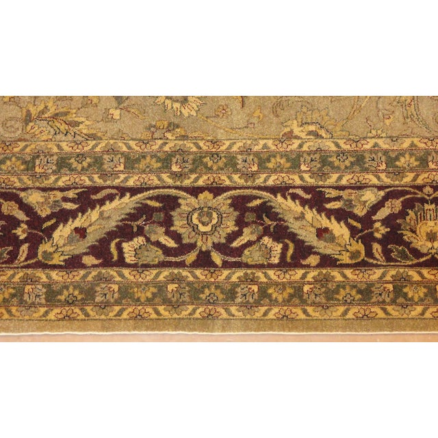"""Islamic Palace Agra Carpet , 10'3"""" x 16'5"""" For Sale - Image 3 of 3"""