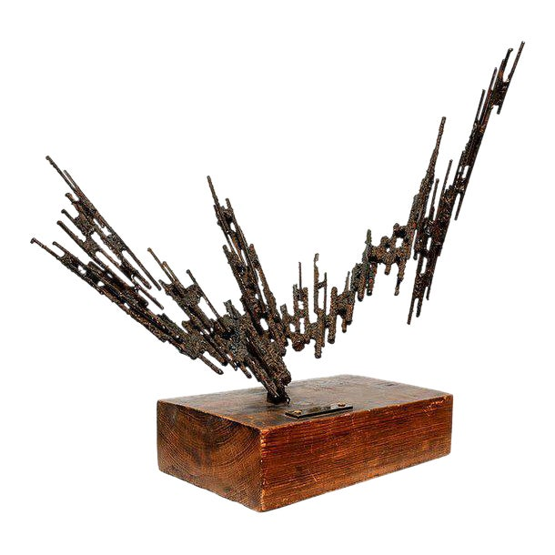 1977 Stanyo Kaminsky Brutalist Sculpture For Sale