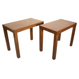 Pair of George Nelson / Herman Miller End Tables For Sale