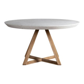 Bellamy Round Terrazzo Dining Table For Sale
