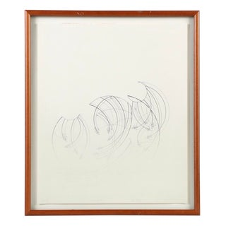 """""""Dew Evaporates"""" Limited Edition Lithograph Signed by Rich Bitting For Sale"""