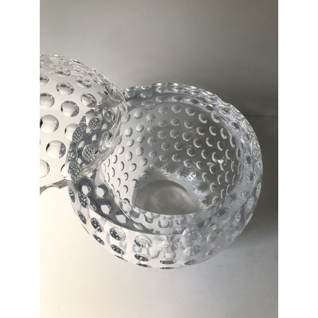 Vintage Lucite Sphere Ice Bucket For Sale - Image 4 of 6
