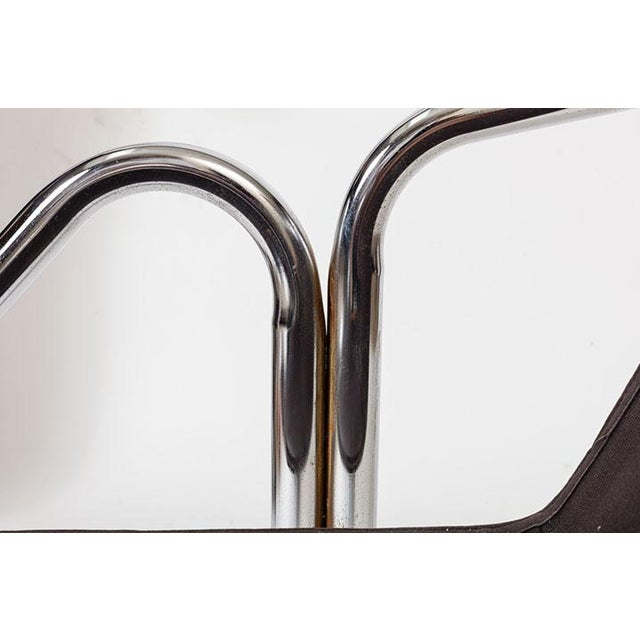 Canvas Jerry Johnson Tubular Chrome Dining Chairs - Set of 8 For Sale - Image 7 of 7