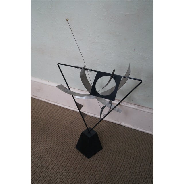 Curtis Jere Metal Mobile Kinetic Sculpture - Image 3 of 4