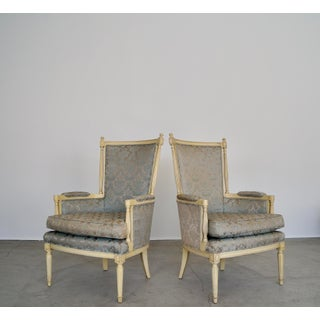 1960s Vintage Montgomery Furniture Inc Hollywood Regency Parlor Chairs- A Pair Preview
