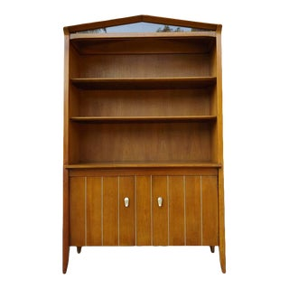 Mid Century Danish Modern Cabinet by John Van Koert for Drexel Profile For Sale