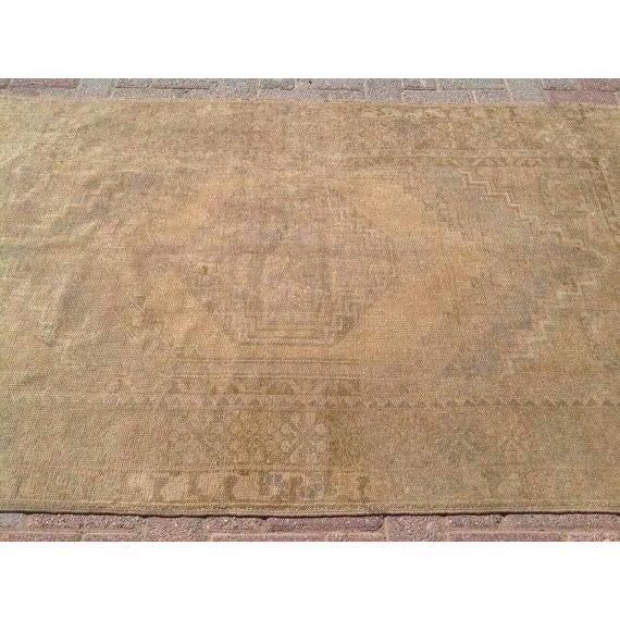 "Vintage Anatolian Rug - 3'8"" x 6'1"" For Sale - Image 4 of 6"