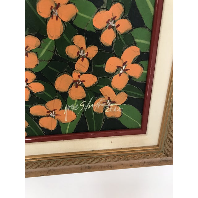 "Linen Original ""Ventana Amarilla"" Oil Painting By Jorge Silvestre For Sale - Image 7 of 8"
