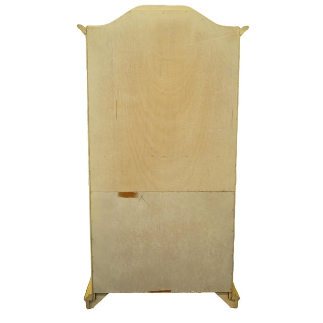 20th Century Italian Tuscan Stanley Furniture Painted Cream Clothing Armoire For Sale - Image 10 of 12