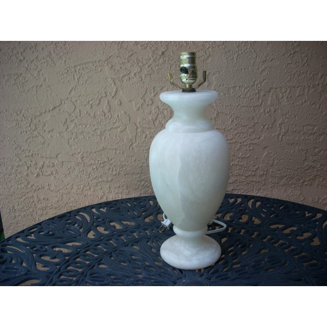 Alabaster Table Lamp - Image 2 of 5