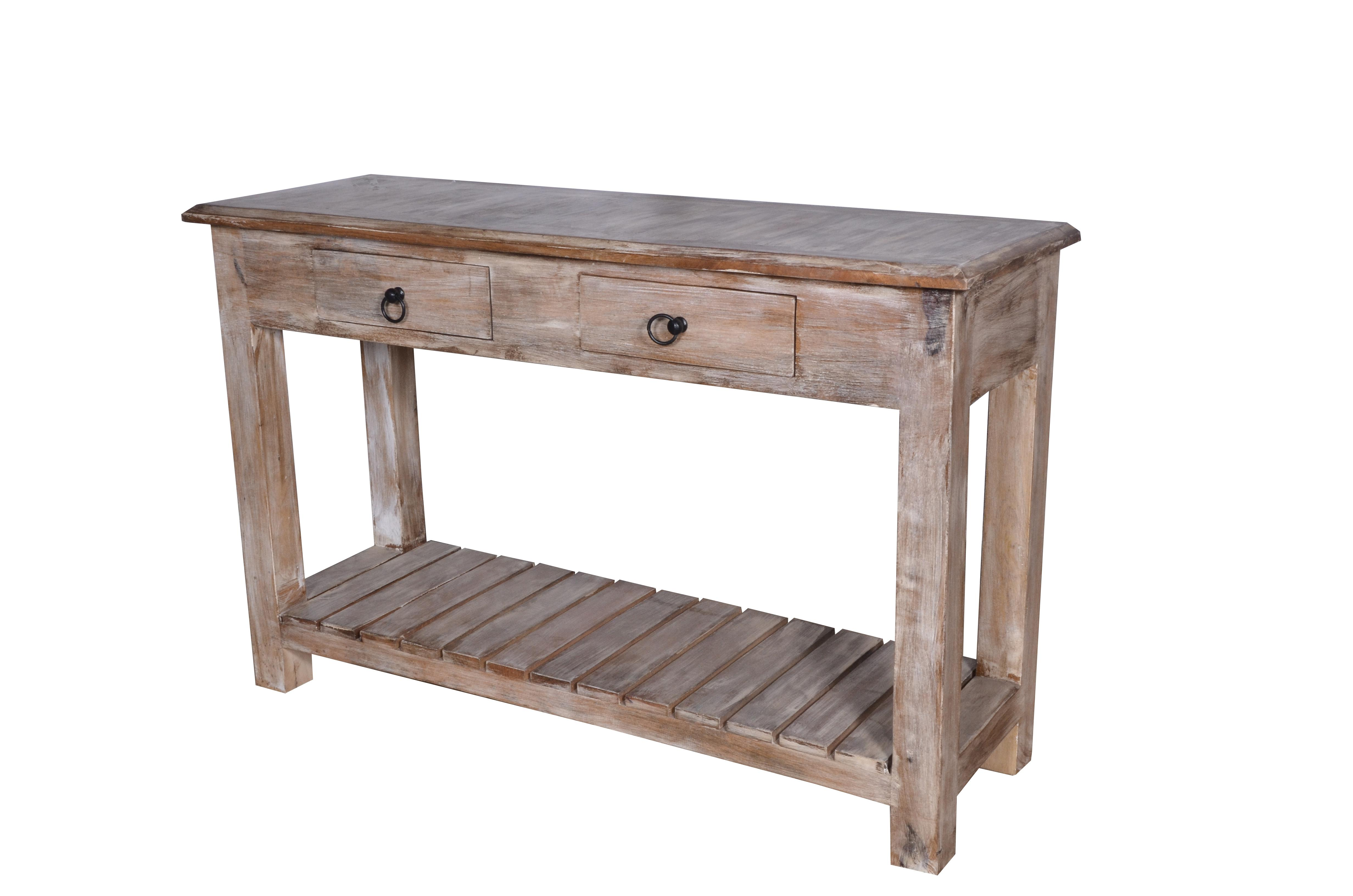 white washed mango wood. Contemporary Designed Occasional Tables Has An Open Style Build To Allow  Your Wall Color Show. Boho Chic Duplin Entryway Whitewashed Mango Wood White Washed Mango Wood