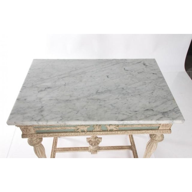 Early 19th Century Swedish Empire Console For Sale - Image 10 of 10