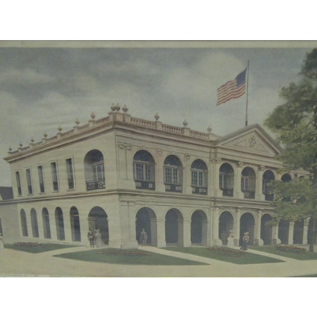 """Vintage """"Louisiana State Building"""" Print - Image 3 of 7"""