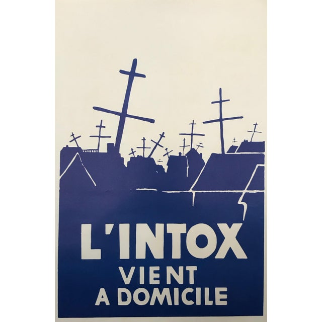 Date: 1968 Size: 19.25 x 12.5 inches (approx. ) About this poster: The volatile period of civil unrest in France during...