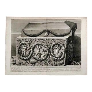 """Piranesi Engraving """"Grand Urna De Porfio"""" For Sale"""