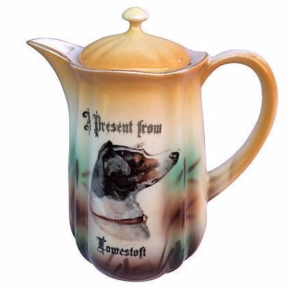English Souvenir Dog Pitcher For Sale