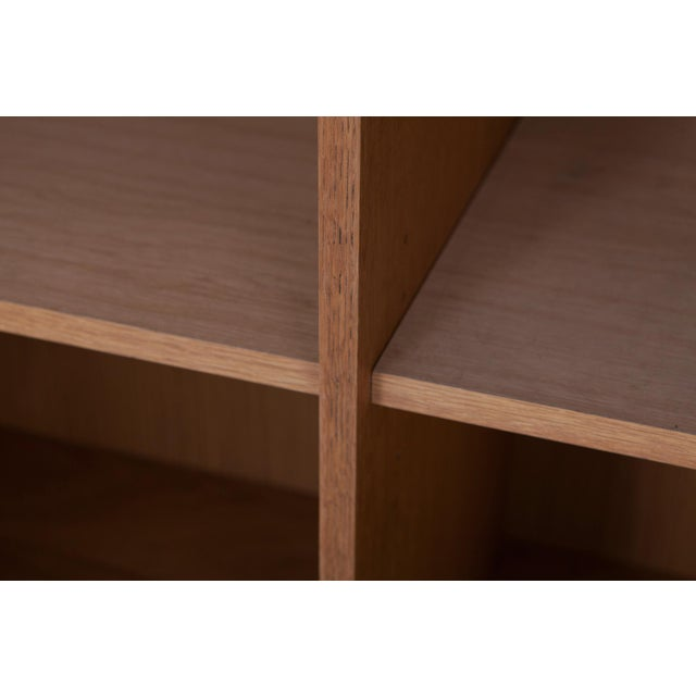Minimalist Natural Oak Bar Cabinet For Sale - Image 11 of 12