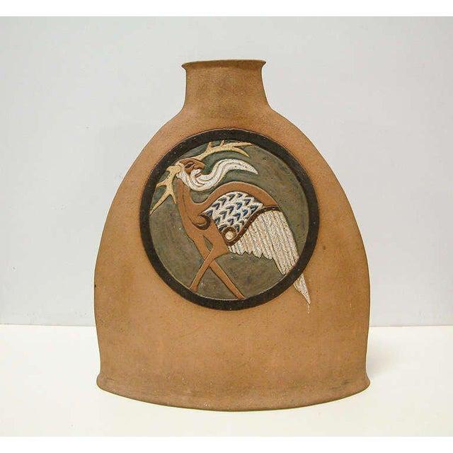 Sand Nittenegger Stoneware Vase For Sale - Image 8 of 10
