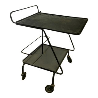 Mathieu Mategot Rolling Serving Table For Sale