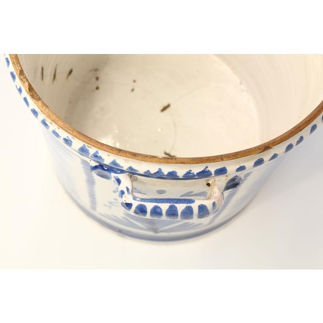 Nevers Faience 'Pot a Oranger' For Sale - Image 11 of 13