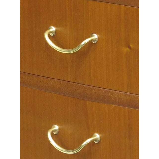 1940s Scandinavian Cuban Mahogany Chest of Drawers For Sale In San Francisco - Image 6 of 7