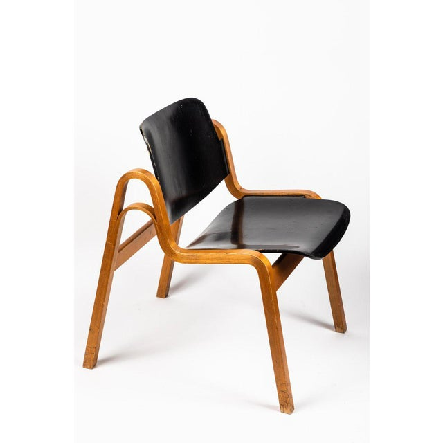 Black 1950s Vintage Ilmari Tapiovaara 'Wilhelmina' Chair For Sale - Image 8 of 10