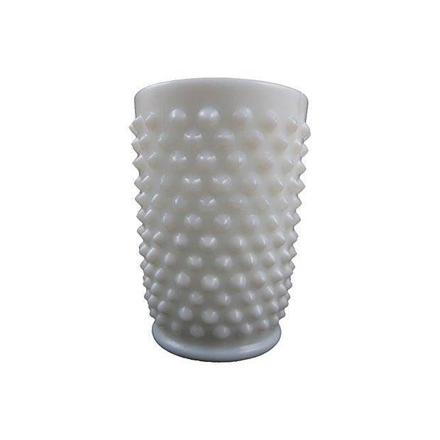 Fenton Hobnail Milk Glass Beverage Service - 5 - Image 6 of 6