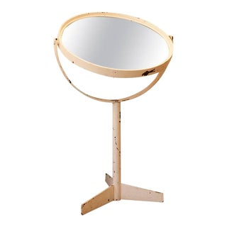 Mid-Century French Steamship Mirror
