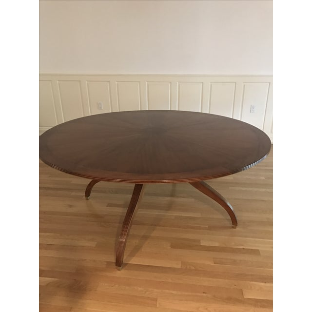 Rose Tarlow Regency Dining Table For Sale - Image 10 of 11