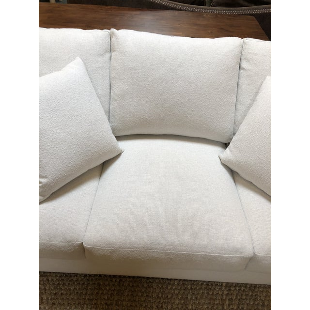 Rene Cazares Furniture Woody Upholstered Sofa For Sale - Image 12 of 13