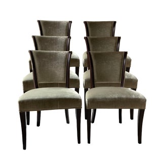 Baker Ascot Dining Chairs - Set of 8 For Sale