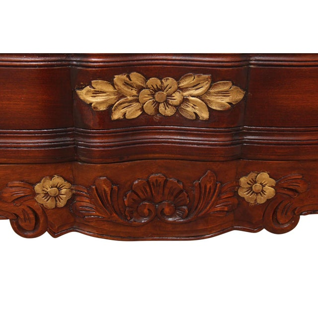 1980s 1980s French Carved Provincial Dresser For Sale - Image 5 of 8