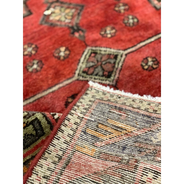1950s 1950s Vintage Persian Runner Rug - 3′4″ × 9′ For Sale - Image 5 of 13