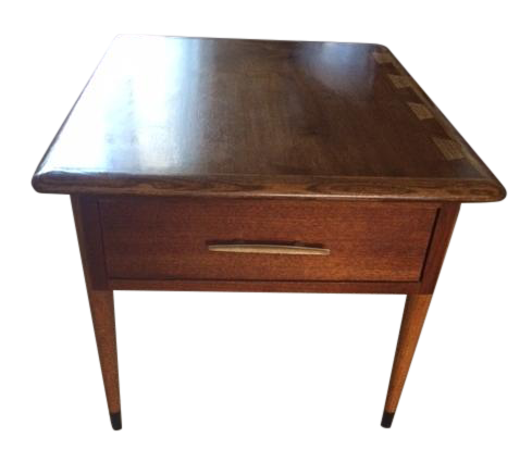 MidCentury Modern Lane Acclaim Commode Table Chairish