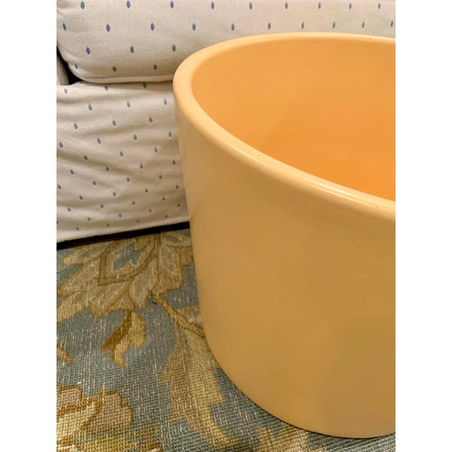 Mid 20th Century Mid-Century Gainey Style Pottery Planter For Sale - Image 5 of 10