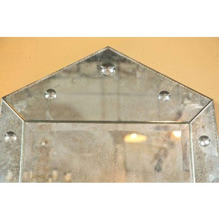 Hollywood Regency Venetian Style MIrror of Pyramid Design Venetian Preview