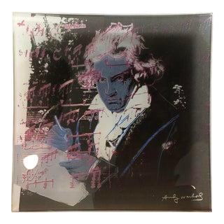 "1980s Vintage ""Beethoven"" Rosenthal Studio Line Print by Andy Warhol For Sale"