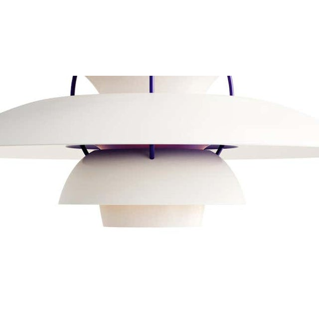 Mid-Century Modern Poul Henningson 'Classic White' PH5 Mini Pendant for Louis Poulsen For Sale - Image 3 of 4