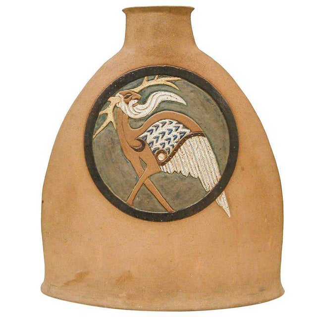 Nittenegger Stoneware Vase For Sale - Image 10 of 10