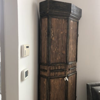 1960s Country Style Corner Cabinet-Italy Preview