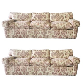 Custom Fortuny Sofa, Two Available For Sale
