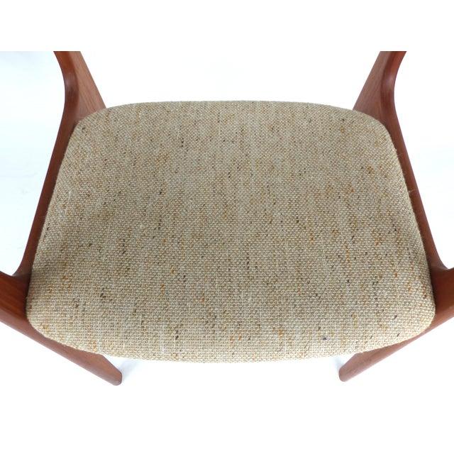 Scandinavian Modern Teak Armchairs - a Pair For Sale - Image 11 of 13