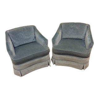 1970s Vintage Drexel Heritage Armchairs - a Pair For Sale