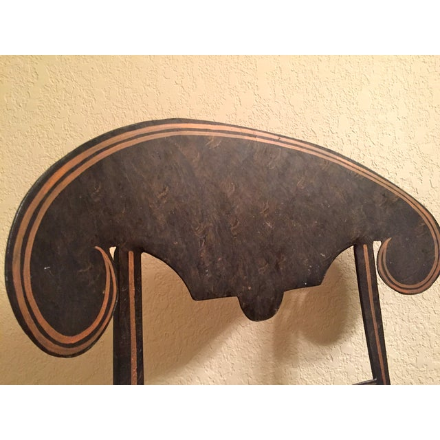 Designer Metal Accent Chair - Image 9 of 11