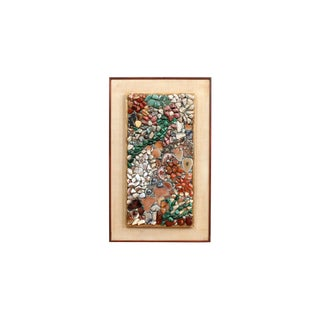 Miriam Rogers Stone Mosaic Wall Hanging For Sale