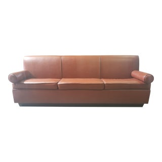 Art Deco Banquette Settee For Sale