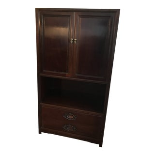 Chinese Chippendale Upright Cabinet For Sale